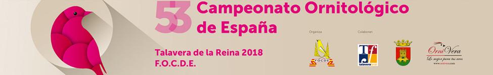 53º CAMPEONATO ORNITOLÓGICO DE ESPAÑA - F.O.C.D.E. y XIII Feria Ornitológica