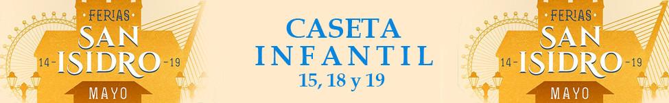 CASETA INFANTIL FERIAS SAN ISIDRO 2019